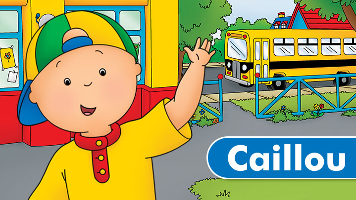 کارتون caillou